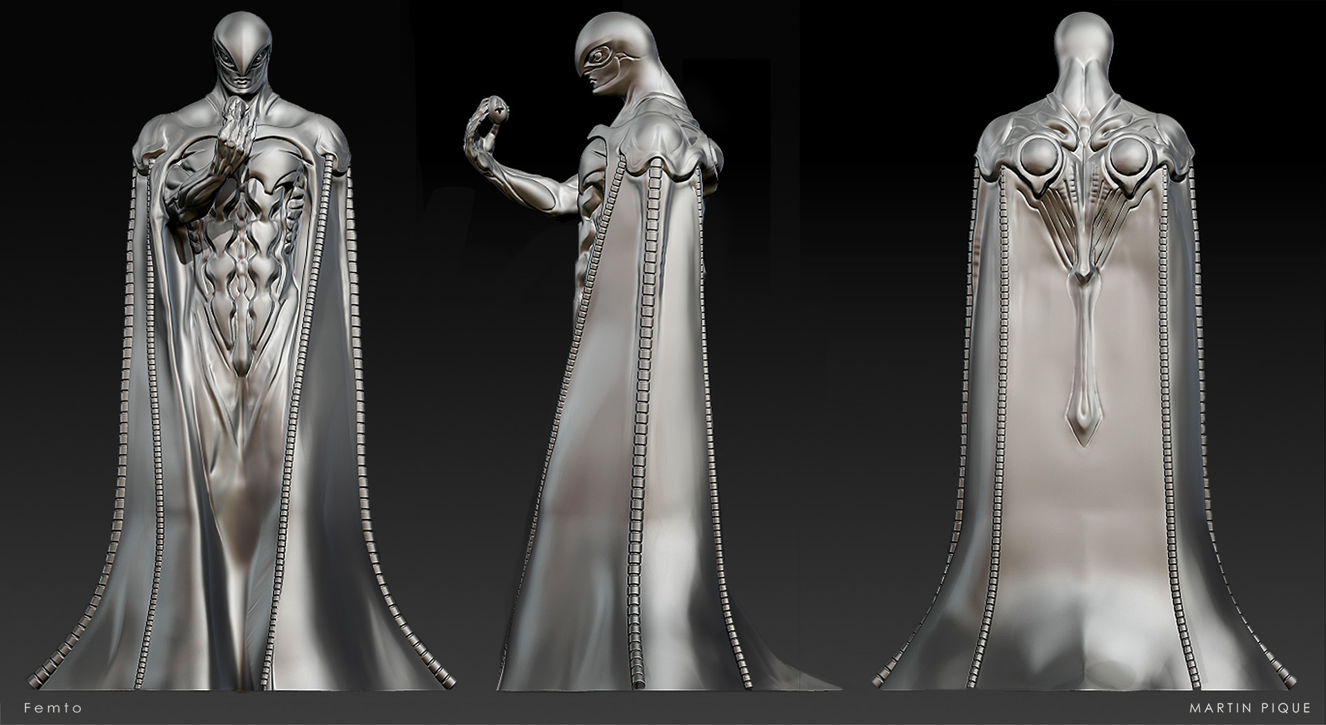 Concept Sculpting in ZBrush - Syn Studio